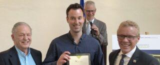 Mikhaël Daigle récipiendaire du Prix reconnaissance Roger Pedneault!